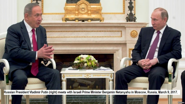 Netanyahu goes to Moscow with Syria on his mind