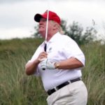 Trump notches his 13th golf course visit