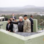 Mike Pence visits the DMZ
