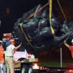 Baltimore removes Confederate monuments in the dead of night