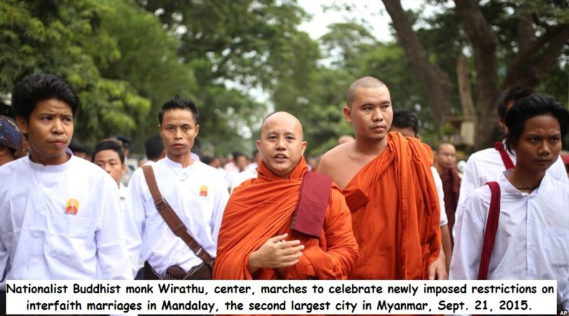 Myanmar steps up efforts against nationalist monks