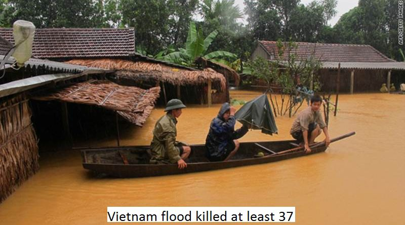 Flood killed 37 in Vietnam - top news from washingtonian post