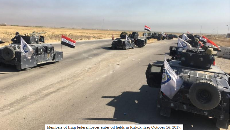 Iraq forces seize Kirkuk outskirts