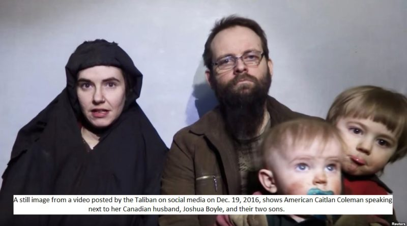 Taliban freed hostage family - washingtonian post