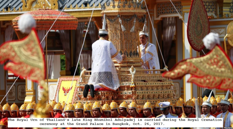 Thailand begins final goodbye to King Bhumibol