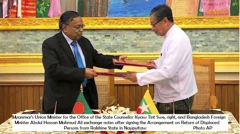 Myanmar Bangladesh deal on Rohingya