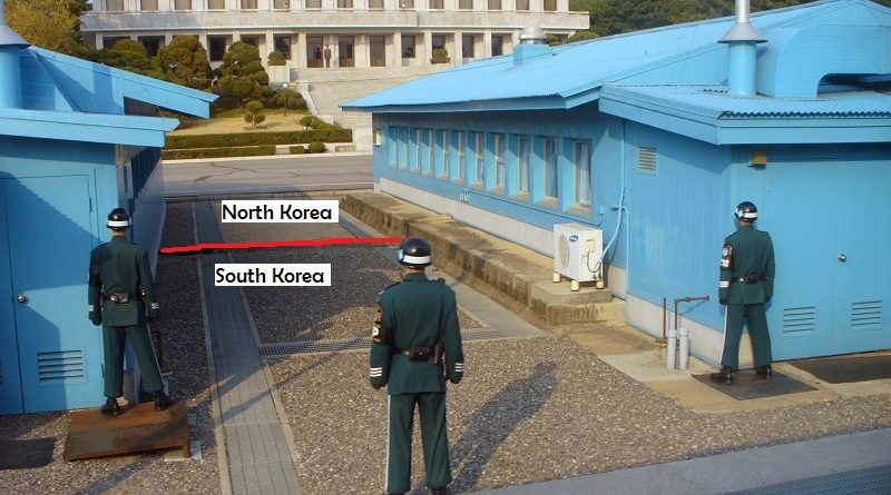 Two Koreas Jointly Control zone