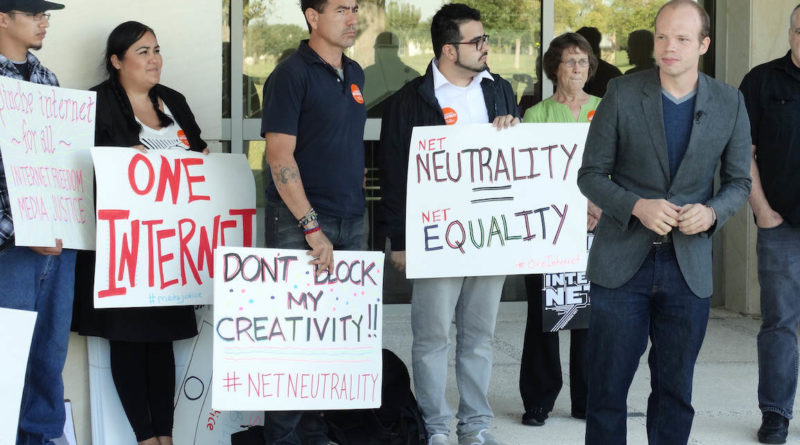 The end of net neutrality