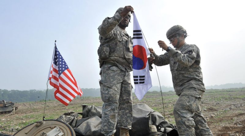 US military drill in South Korea