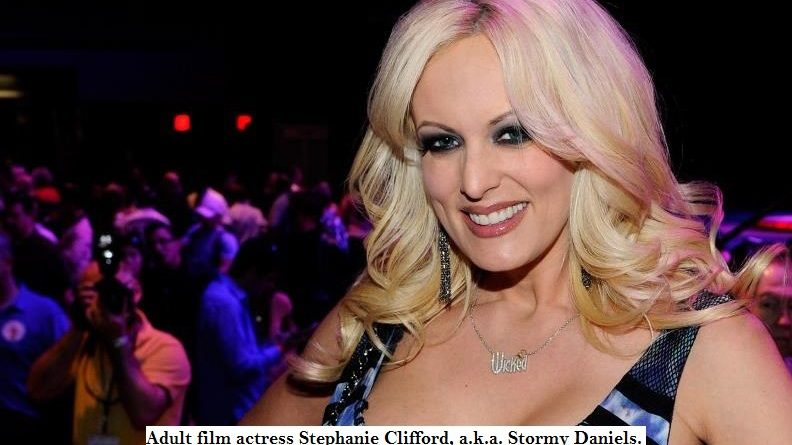Trump and porn star Stormy Daniels