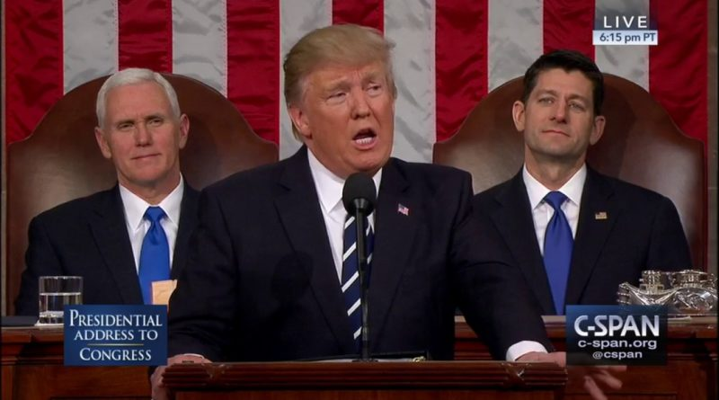 Trump delivers first State of the Union