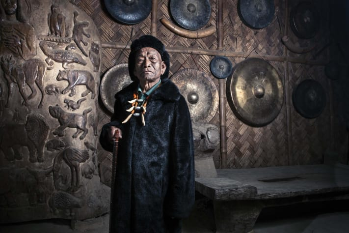 The Last of Nagaland's Tattooed Headhunters