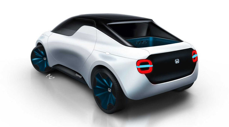 Honda's Mini Electric ute Concept