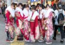 Japanese ladies in kimono wrong assumption about Japan